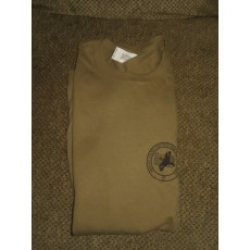 PSO Logo Short-sleeved T-shirt Dark Khaki