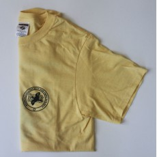 PSO Logo Short-sleeved T-shirt Pale Yellow